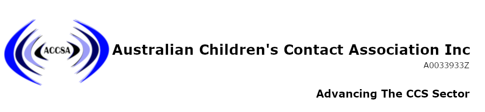 ACCSA - The Australian Children's Contact Services Association